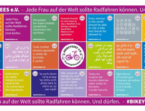 Wenn das Fahrrad Möglichkeitsräume eröffnet – der Verein #BIKEYGEES e. V.