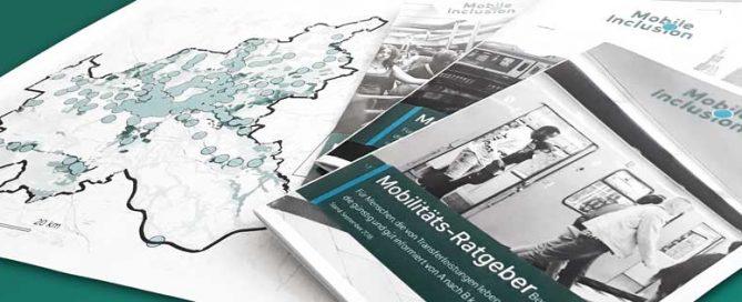 Karten und Flyer von MobileInclusion
